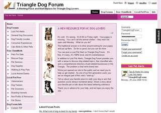 Triangle Dog Forum